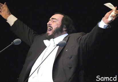 کنسرت پاواراتی در آمریکا