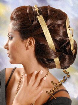 1 آموزش شینیون مو کوتاه + عکس مدل های جدید  شینیون مو