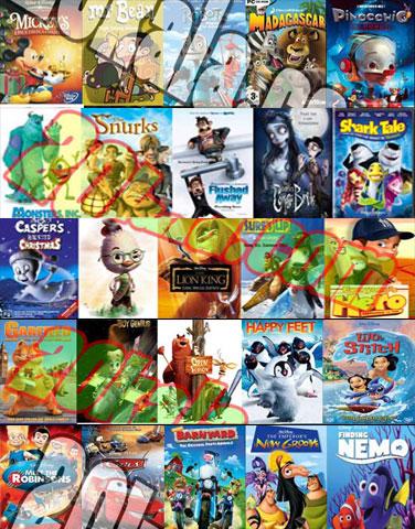 مجموعه ی از 250 کارتون دوبله