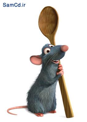 کارتون موش آشپزخانه