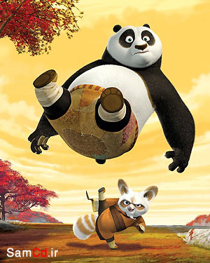 انیمیشن زیبای پاندای کنگ فو کار