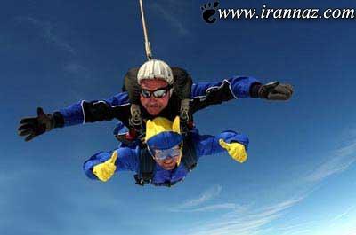 برای این مرد شجاع ترس و دلهره غریبه است!! (عکس)