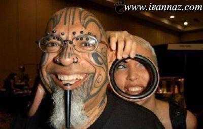 آرایش های بسیار عجیب برای جلب توجه بیشتر (عکس)
