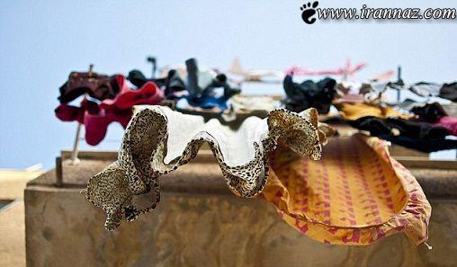 رقصیدن باورنکردنی ولی واقعی لباس ها (عکس)