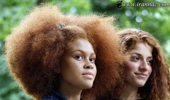 عکس های باورنکردنی ازجشنواره ی مو قرمزی ها