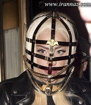 لیدی گاگا در لباس بسیار جنجالی و ترسناک (عکس)