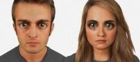 چهره ی انسان ها تا صد هزار سال دیگر (عکس)
