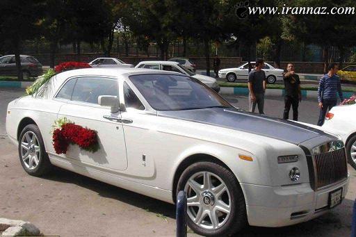 گرانترین ماشین عروس در اصفهان (عکس)