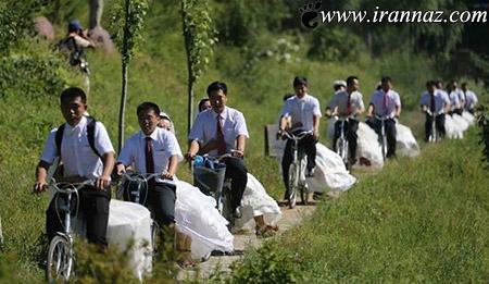 ازدواج به سبک جدید در ژاپن (عکس)
