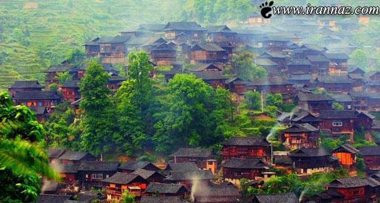 روستایی که انسان ها را حیرت زده می کند (عکس)