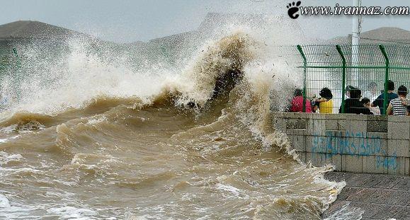 اتفاق بسیار عجیب و غریب در کنار دریا (عکس)