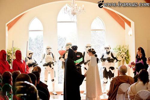 عکس های دیدنی از ازدواج به سبک فیلم های کارتونی