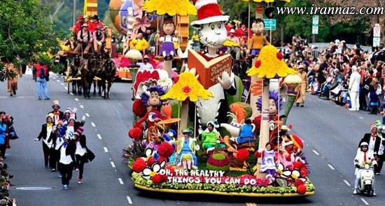 عکس های بسیار زیبا از فستیوال رژه گلها