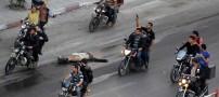 مجازات وحشتناک جاسوس اسرائیلی در غزه (عکس)