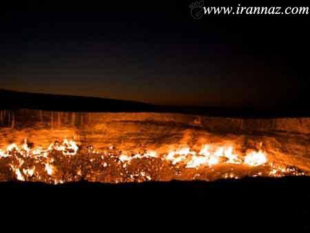 وحشتناک ترین دوازه ی جهنم در دنیا (عکس)