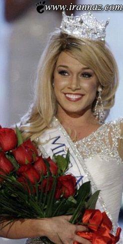 عکس های حیرت آور از ملکه ی زیبای آمریکا