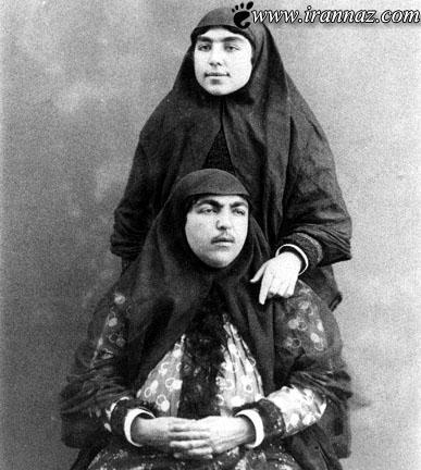 علت چاقی ببش از حد زنان در دوره ی قاجار (عکس)