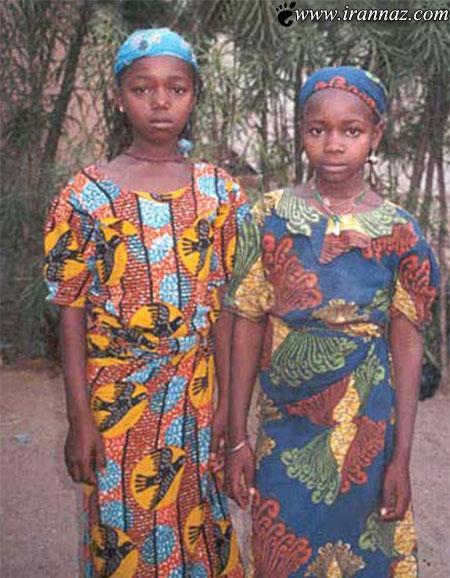 رسم عجیب و غریب اتو کردن سینه ی دختران (عکس)