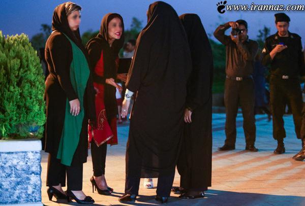 برخورد با بدحجابی در تهران (عکس)