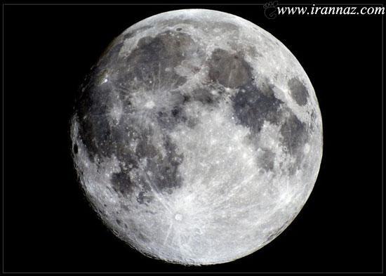 عکس باور نکردنی از چند متری کره ی ماه