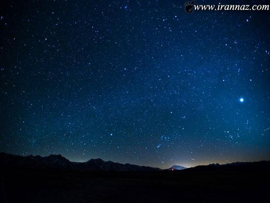 عکس های باورنکردنی از باران ستاره ها