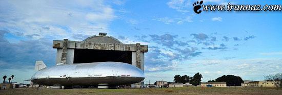 اختراع جدید و جالب کشتی های هوایی (عکس)