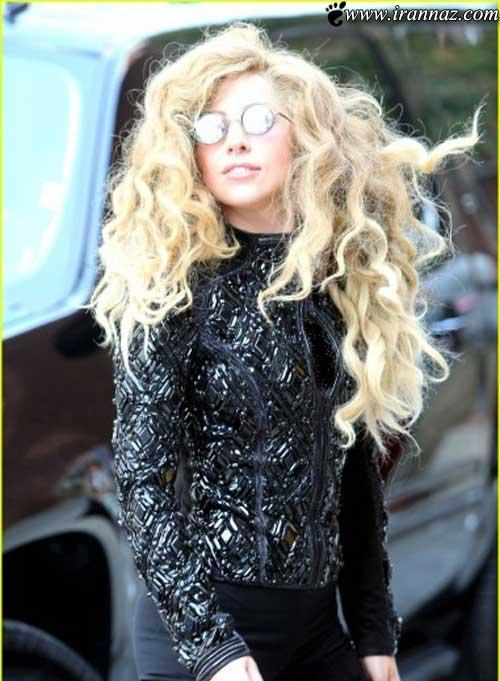 جدیدترین عینک لیدی گاگا سوژه شد (عکس)