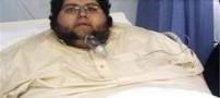 چاق ترین پسر جوان در دنیا فوت کرد (عکس)