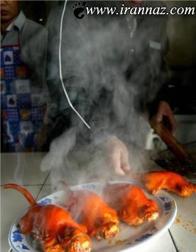 عکس هایی از چندش آور ترین خوردنی های دنیا