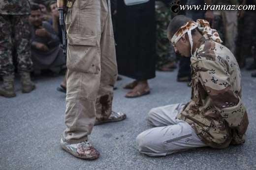سربریدن واقعی یک سرباز جوان سوری (عکس)