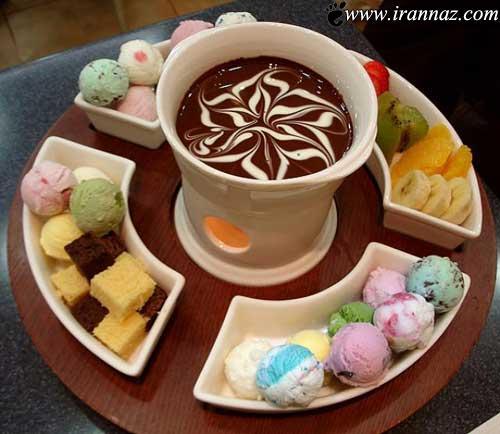 بی نظیر ترین و اشتها آورترین بستنی های دنیا (عکس)