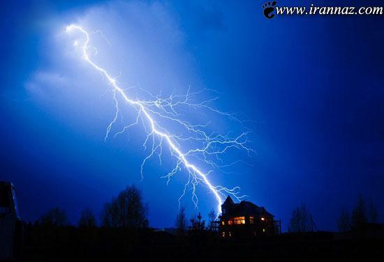 رعد و برق های واقعی و حیرت آور (عکس)
