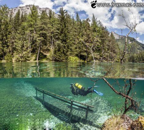 عکس های بی نظیر و دیدنی از پارکی که زیر آب است