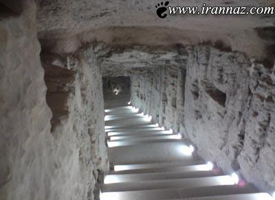 معبد بسیار ترسناک و عجیب در مصر (عکس)