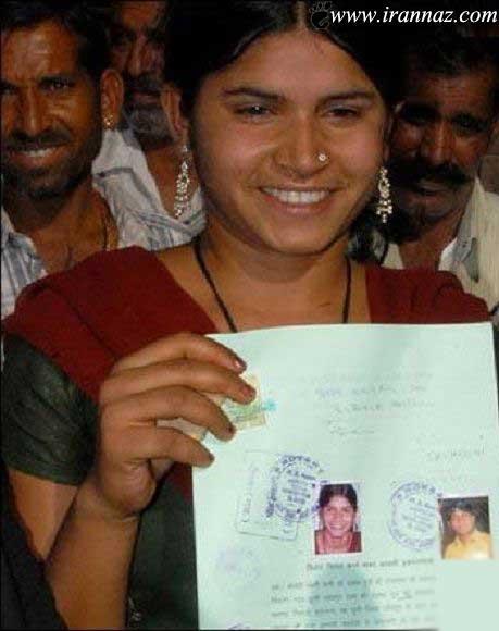 ازدواج باورنکردنی دختر 1 ساله در هند (عکس)