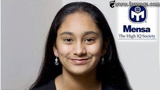 رقابت دختر 13 ساله و باهوش با آلبرت انیشتین (عکس)