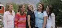 ازدواج باورنکردنی یک مرد جوان با 5 زن (عکس)