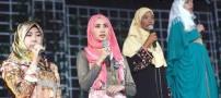 برگزاری مسابقه ملکه ی زیبایی دنیای اسلام (عکس)