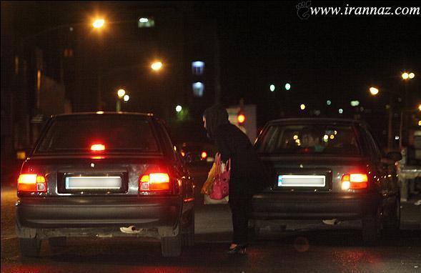 دختران خیابانی تهران ساعت 12 شب به بعد (عکس)