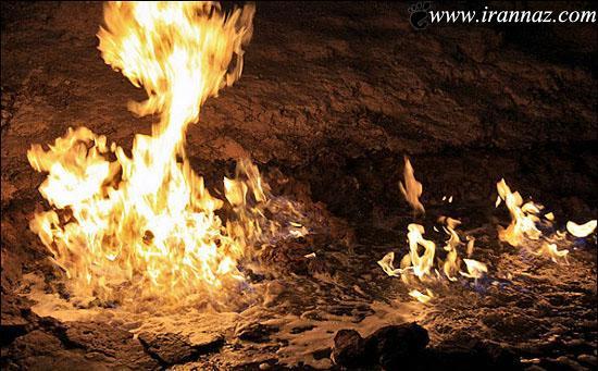 عکس های باورنکردنی از رودخانه ی آتشین