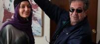 مهناز افشار و پشت صحنه یک فیلم باورنکردنی (عکس)