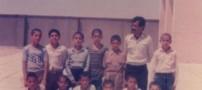 عکس هایی از یک معلم که در مدرسه قلیان می کشد