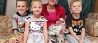 مادری که اسم های فرزندانش جنجال به پا کرد (عکس)