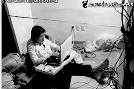 زنی که به طور عجیبی در اینترنت زندانی شده (عکس)