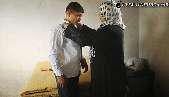 عکس هایی ناب از ازدواج زوج 14 ساله فلسطینی