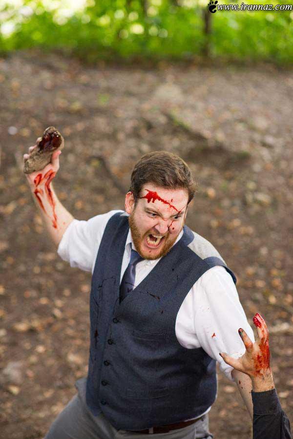 عکس های ترسناک از حمله ی زامبی های واقعی