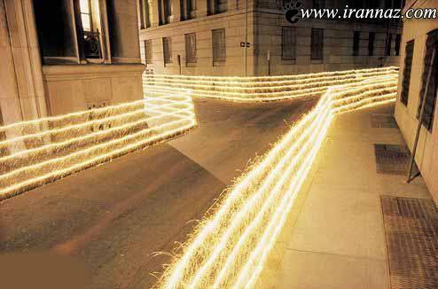 اجسام نورانی بی نظیر در نیویورک (عکس)