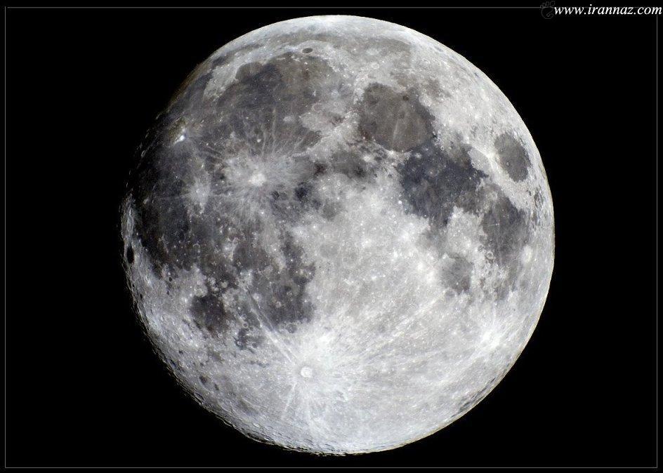 ماه  صد میلیون سال جوان تر شد (عکس)