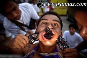 عکس های ترسناک و وحشتناک از انسان های دیوانه