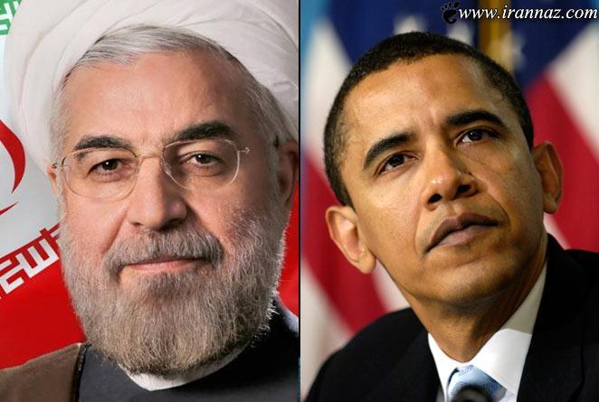 درخواست تلفنی باراک اوباما با رئیس جمهور (عکس)